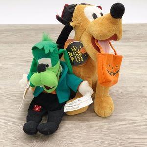 Disney Halloween Goofenstein & Animated Pluto